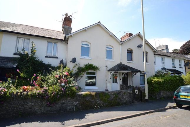 Thumbnail Terraced house to rent in Cricketfield Road, Newton Abbot, Devon