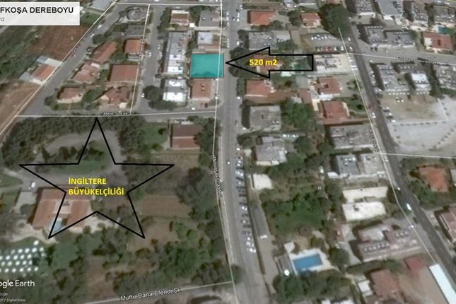 Thumbnail Land for sale in Land For Sale In Nicosia Dereboyu Avenue Rare Piece, Nicosia, Cyprus