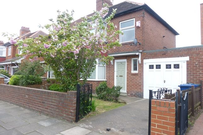 2 bed semi-detached house to rent in Northfield Road, Gosforth, Newcastle Upon Tyne