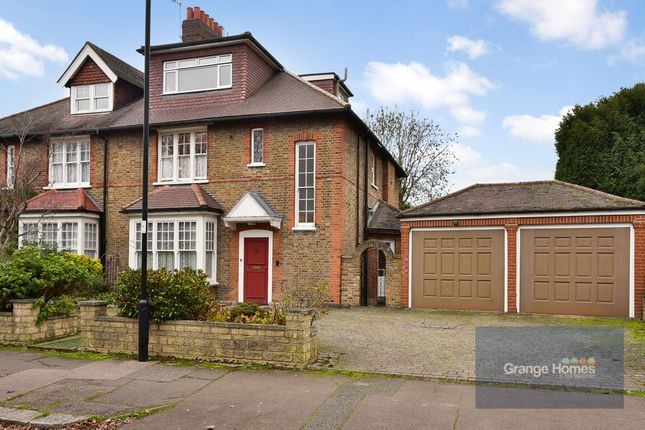 Thumbnail Semi-detached house for sale in Queen Annes Gardens, Bush Hill Park