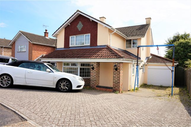 Thumbnail Detached house for sale in Miller Drive, Fareham