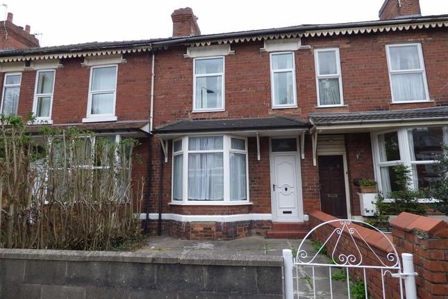 Thumbnail Terraced house for sale in Ruskin Road, Crewe