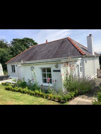 Thumbnail Detached bungalow to rent in Ffordd Cadant, Menai Bridge