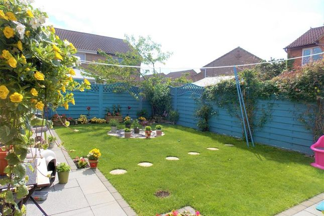 Rear Garden of Nelson Way, Grimsby DN34