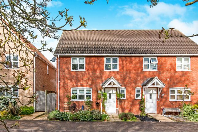 Thumbnail Semi-detached house for sale in Green Acre Close, Mundford, Thetford