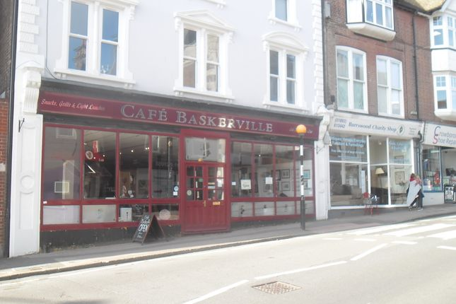 Thumbnail Restaurant/cafe to let in The Broadway, Crowborough