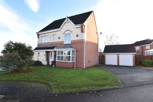 Thumbnail Detached house for sale in Falcon Close, Droitwich, Worcestershire