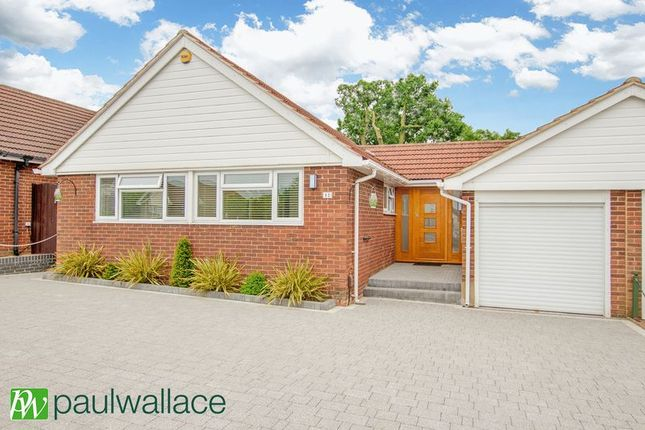Thumbnail Bungalow for sale in Banes Down, Nazeing, Waltham Abbey