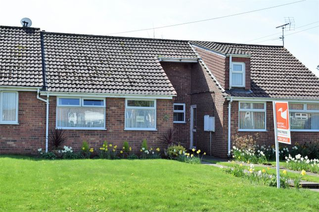 Thumbnail Terraced bungalow for sale in Spruce Lane, Ulceby