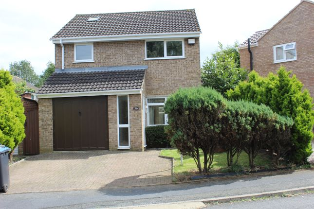 Thumbnail Semi-detached house to rent in Bracken Drive, Rugby