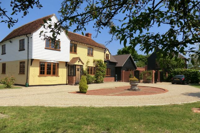 Thumbnail Detached house for sale in Potts Green, Marks Tey, Colchester