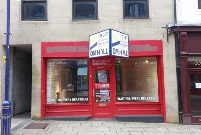 Thumbnail Retail premises to let in High Street, Dunfermline