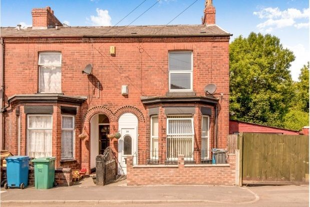 Thumbnail End terrace house to rent in Woodland Avenue, Gorton, Manchester