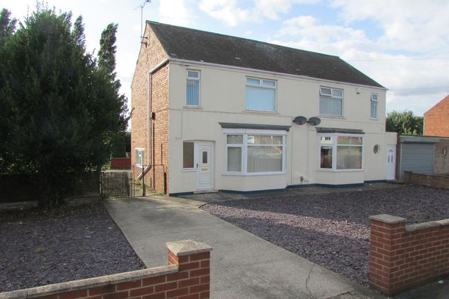 Thumbnail Semi-detached house for sale in Scotter Road, Scunthorpe