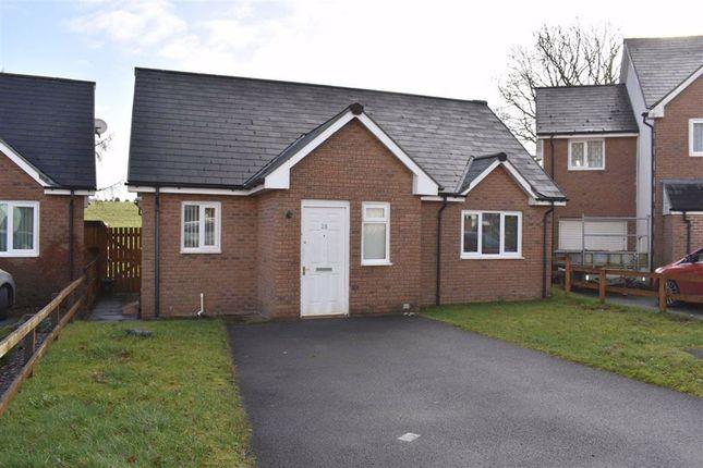 Thumbnail Detached bungalow for sale in Bryn Steffan, Lampeter