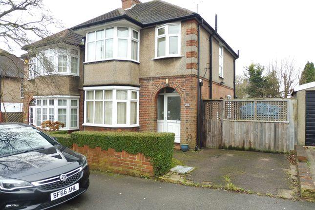 Thumbnail Semi-detached house for sale in Cranleigh Gardens, Luton