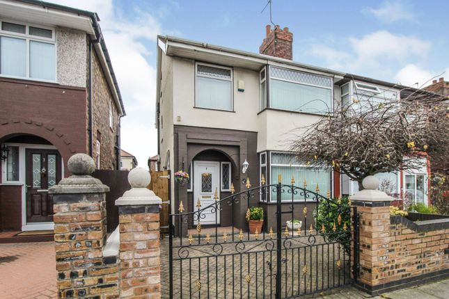 4 bed semi-detached house for sale in Lunar Road, Walton, Liverpool L9