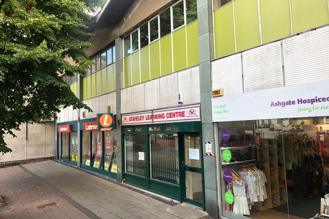 Thumbnail Retail premises for sale in High Street, Chesterfield