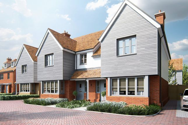 Thumbnail Semi-detached house for sale in Mill View, London Road, Great Chesterford, Saffron Walden