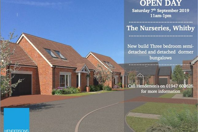 Thumbnail Detached bungalow for sale in Holly Tree Court, Whitby