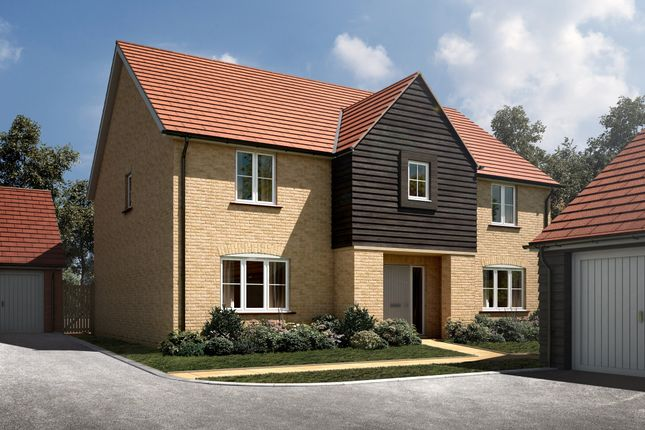 "Thumbnail Detached house for sale in ""The Wells"" at Radwinter Road, Saffron Walden, Essex, Saffron Walden"