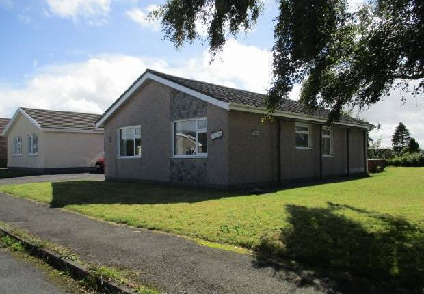 Thumbnail Bungalow for sale in Dolwerdd Estate, Penparc, Cardigan