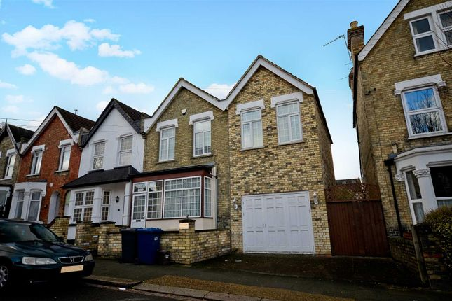 Thumbnail End terrace house for sale in Glenthorne Road, London