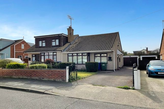 2 bed semi-detached bungalow for sale in Thames Crescent, Corringham, Stanford-Le-Hope SS17
