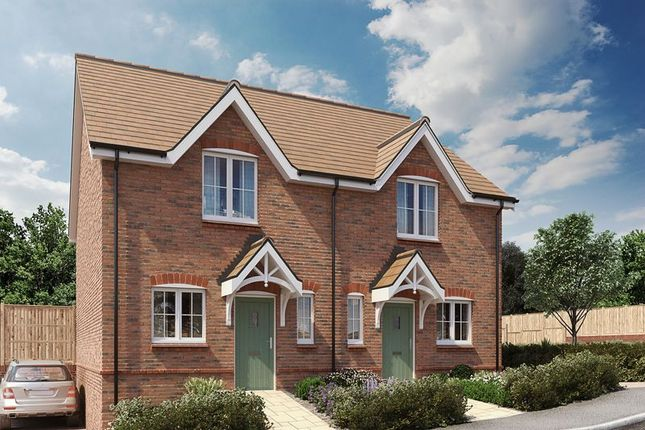 Thumbnail Semi-detached house for sale in Barleycroft, Church Street, Rugwick