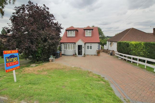 Thumbnail Detached bungalow for sale in Northaw Road East, Cuffley, Herts