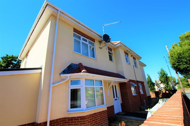 Thumbnail Maisonette to rent in Castle Lane West, Bournemouth