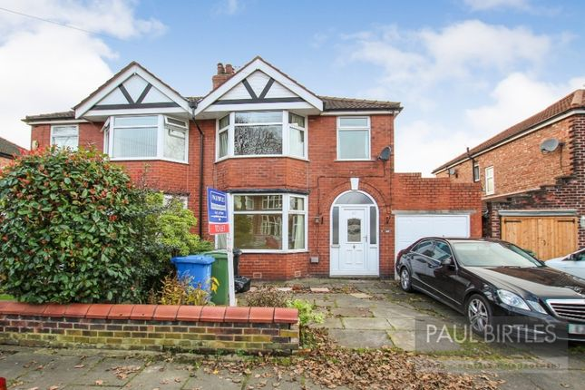 Thumbnail Semi-detached house to rent in Exeter Road, Davyhulme