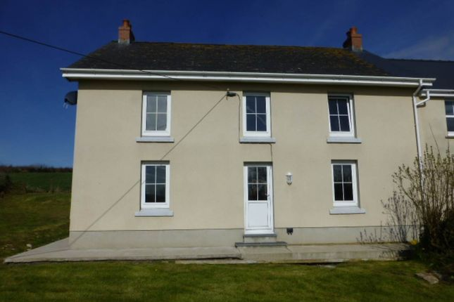 Thumbnail Detached house to rent in Tavernspite, Whitland