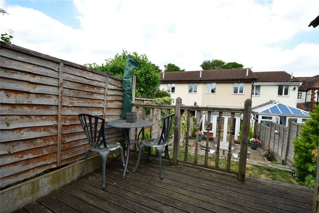 Decked Area of St Lukes Close, Swanley, Kent BR8