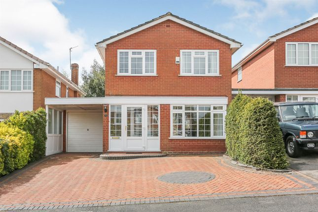 Thumbnail Detached house for sale in Abbots Close, Knowle, Solihull