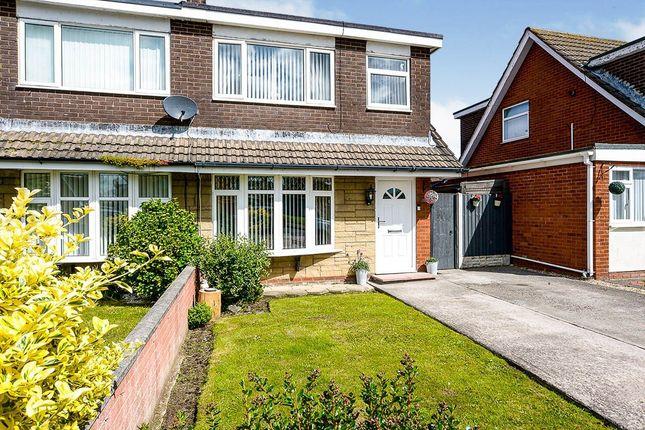 Thumbnail Semi-detached house for sale in Merfyn Way, Rhyl, Denbighshire