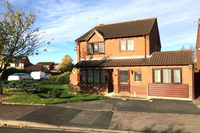 Thumbnail Detached house to rent in Jacob Close, Worcester