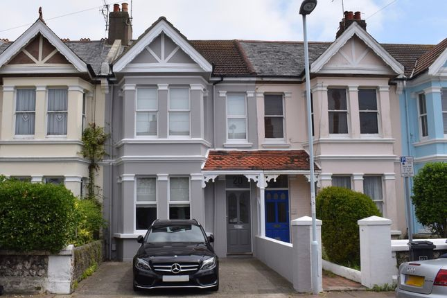 Thumbnail Terraced house for sale in Alexandra Road, Worthing