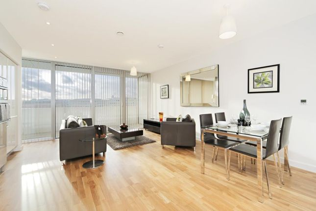 Thumbnail Flat to rent in Edmunds House, Chiswick Point, Colonial Drive, London