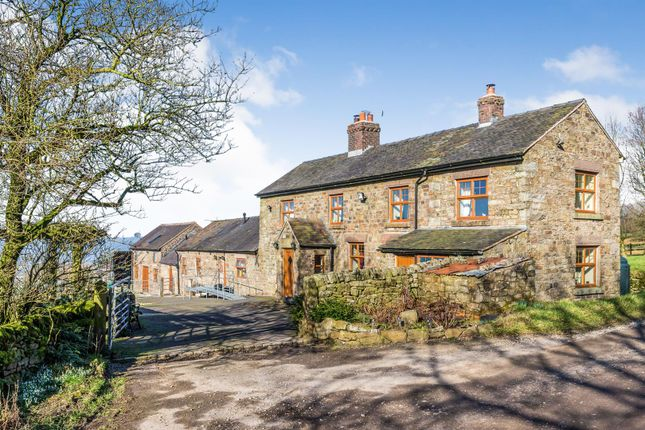 Thumbnail Detached house for sale in Bradnop, Leek