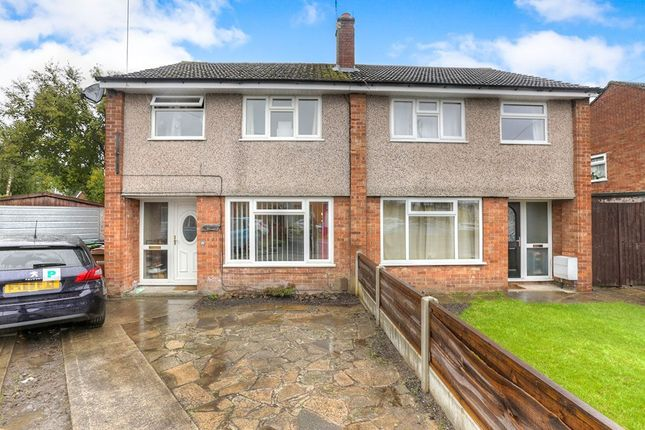 Thumbnail Semi-detached house to rent in Dunster Close, Hazel Grove, Stockport