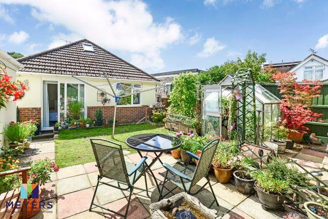 Rear Garden of Dale Valley Road, Oakdale, Poole BH15