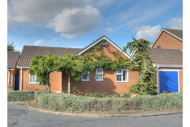 Thumbnail Detached bungalow for sale in Iris Close, Attleborough