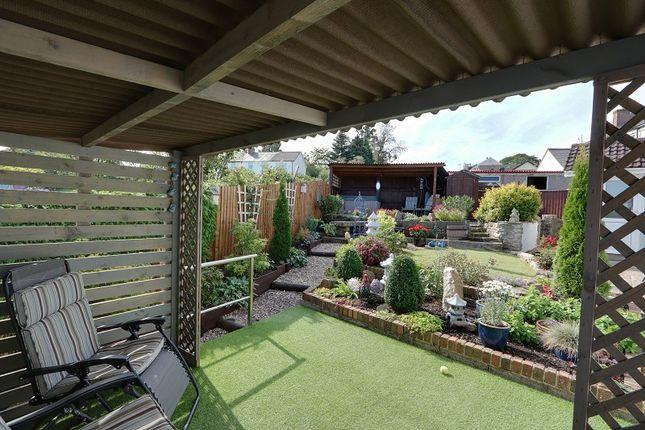 Garden of Whitecroft Road, Bream, Lydney, Gloucestershire. GL15