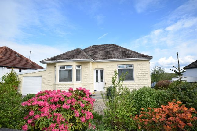 Thumbnail Detached bungalow for sale in Gordon Avenue, Netherlee, Glasgow