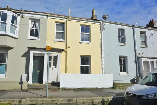 Thumbnail Terraced house for sale in Wellington Terrace, Falmouth