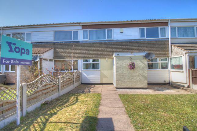 3 bed terraced house for sale in Berwicks Lane, Marston Green, Birmingham B37