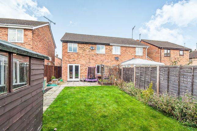 Thumbnail Semi-detached house for sale in Deerpark Road, Sawtry, Huntingdon