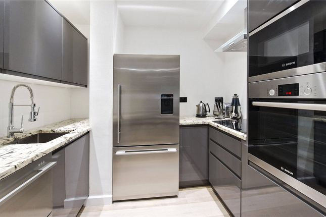 Kitchen of St Georges Square, Pimlico, London SW1V