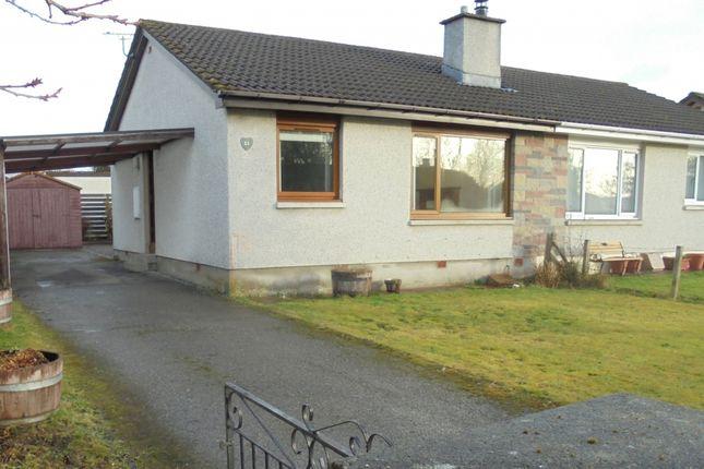 Thumbnail Semi-detached house to rent in Coulnakyle 12 Balconie Park, Evanton